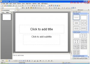 Kingsoft Presentation - программа  презентаций