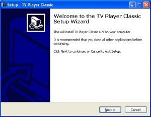 Бесплатная программа просмотра ТВ  онлайн  TV Player Classic.