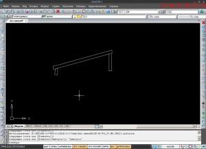 Программа проектирования nanoCad_V 3.7-интерфейс.